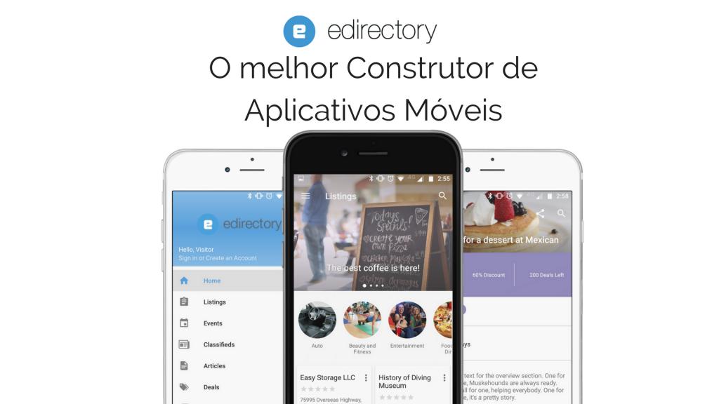 construtor de aplicativos móveis