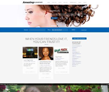 Amazing Businesses - Cliente em Destaque do eDirectory