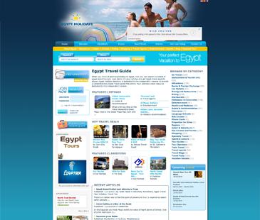 Egypt Holidays Directory - Cliente em Destaque do eDirectory