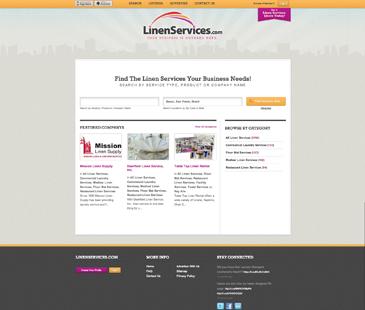 Linen Services - Cliente em Destaque do eDirectory