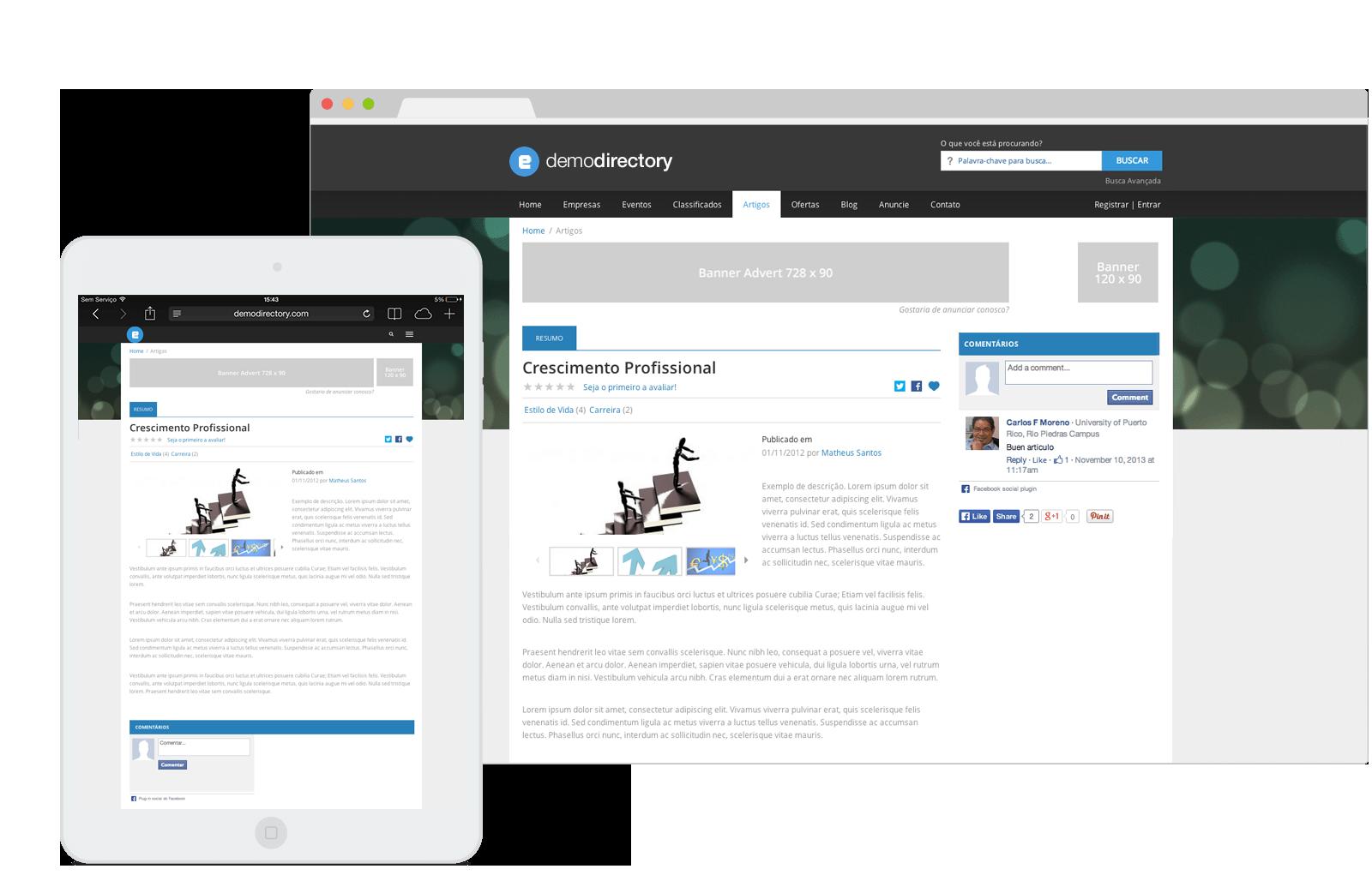 eDirectory - Módulo de Artigos