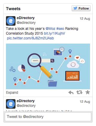 eDirectory Plugins de Redes Sociais - Twitter Plugin
