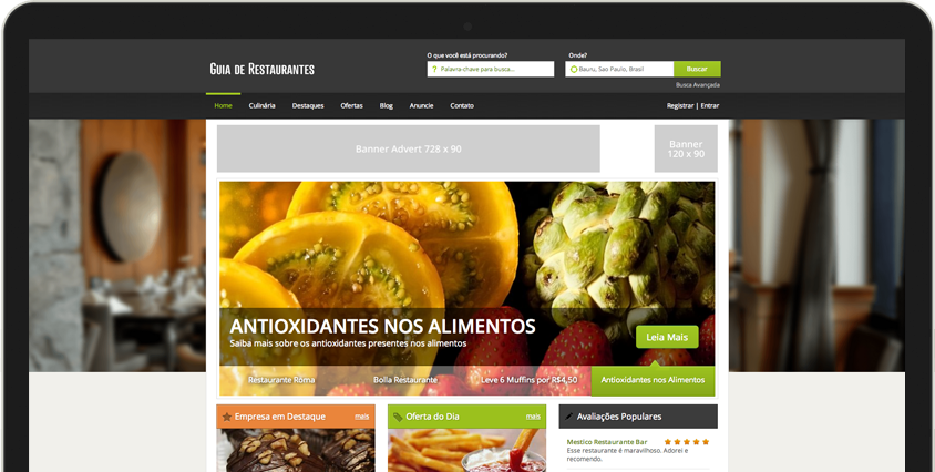 Guia de Restaurantes bem-sucedidos começam com o eDirectory