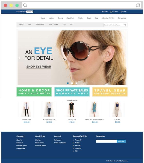 eDirectory Loja Virtual