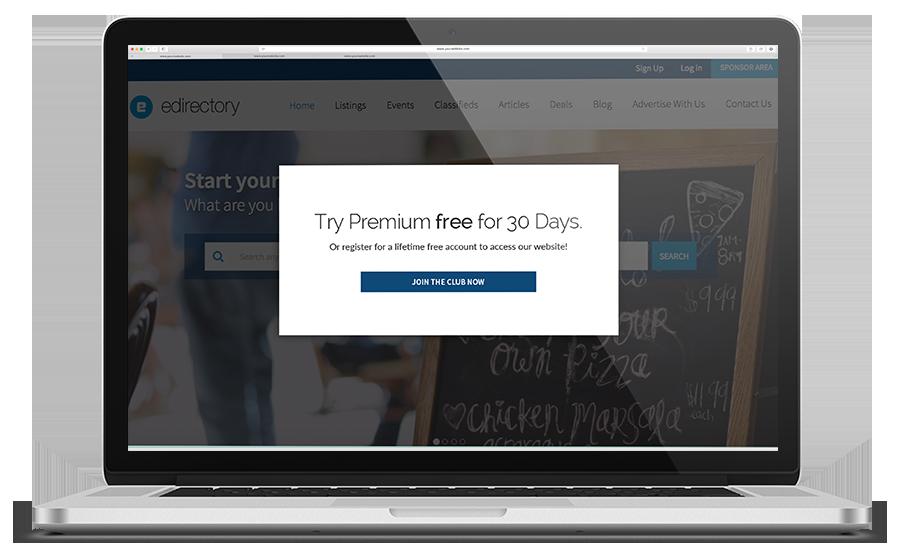eDirectory Site Exclusivo para Membros