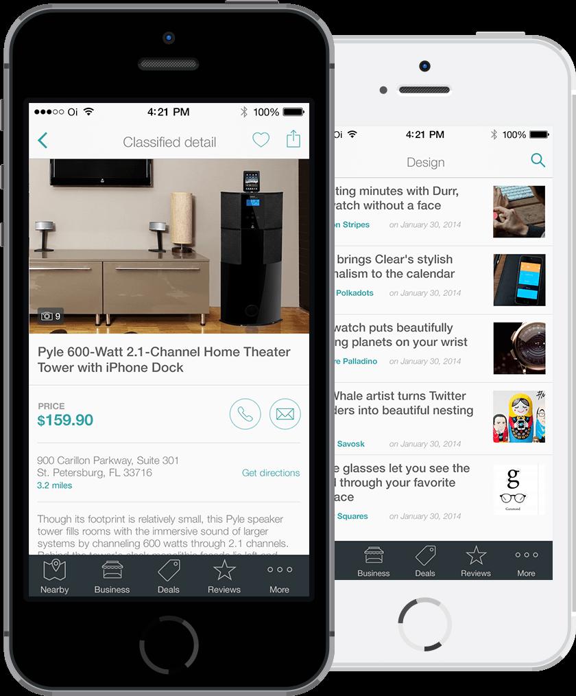 Tema eDirectory - Mobile